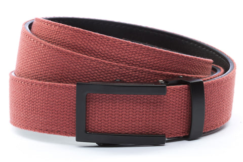 1-25-quot-traditional-buckle-in-black 1-25-quot-salmon-canvas-strap