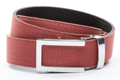 1-25-quot-nickel-free-traditional-buckle 1-25-quot-salmon-canvas-strap