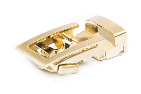 "1.25"" Traditional Buckle in Gold"