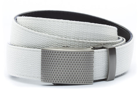 1-25-quot-anson-golf-buckle-in-gunmetal 1-25-quot-white-canvas-strap