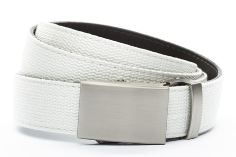1-25-quot-classic-buckle-in-gunmetal 1-25-quot-white-canvas-strap