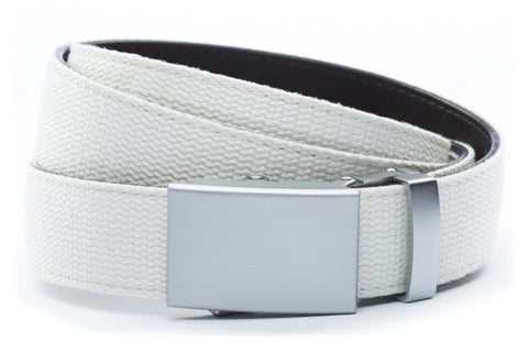 1-25-quot-classic-buckle-in-silver 1-25-quot-white-canvas-strap