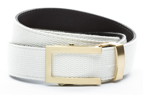 1-25-quot-traditional-buckle-in-gold 1-25-quot-white-canvas-strap