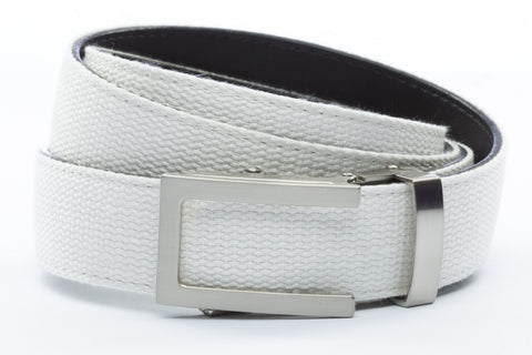 1-25-quot-traditional-buckle-in-silver 1-25-quot-white-canvas-strap