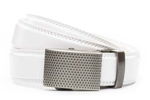 1-25-quot-anson-golf-buckle-in-gunmetal 1-25-quot-white-leather-strap