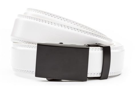 1-25-quot-classic-buckle-in-black 1-25-quot-white-leather-strap
