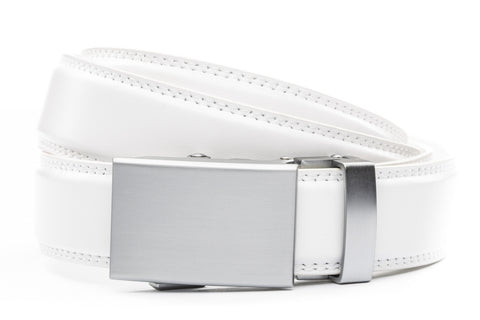 1-25-quot-classic-buckle-in-silver 1-25-quot-white-leather-strap