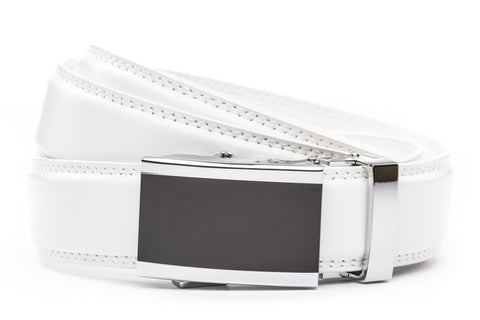 1-25-quot-onyx-buckle 1-25-quot-white-leather-strap