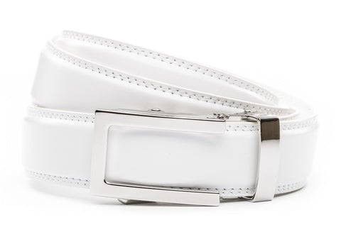 1-25-quot-nickel-free-traditional-buckle 1-25-quot-white-leather-strap