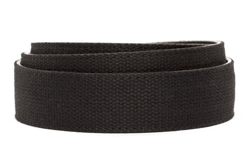 "XL 1.5"" Black Canvas Strap"