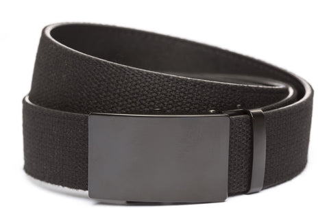 1-5-quot-classic-buckle-in-black xl-1-5-quot-black-canvas-strap