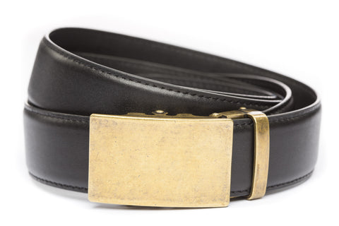 1-5-quot-classic-buckle-in-antiqued-gold 1-5-quot-black-leather-strap