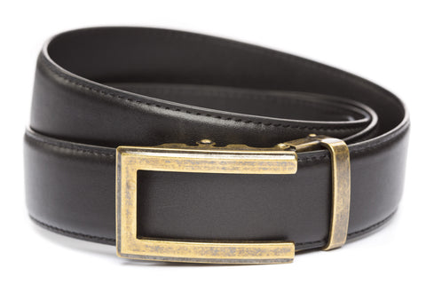 1-5-quot-traditional-buckle-in-antiqued-gold 1-5-quot-black-leather-strap