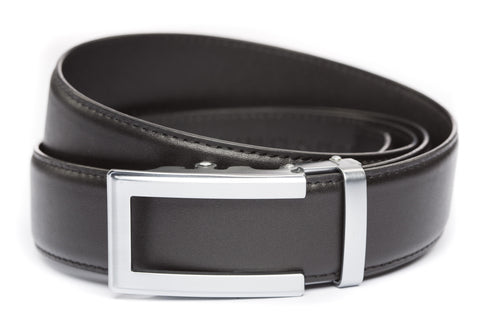 1-5-quot-traditional-buckle-in-silver 1-5-quot-black-leather-strap