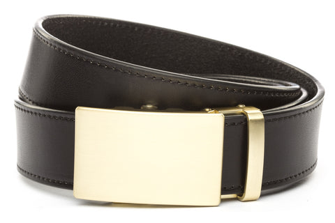 1-5-quot-classic-buckle-in-matte-gold 1-5-quot-black-vegetable-tanned-leather-strap