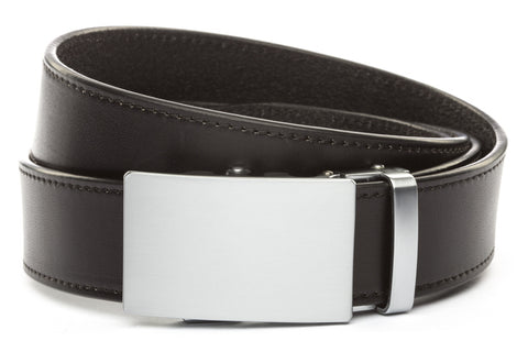 1-5-quot-classic-buckle-in-silver 1-5-quot-black-vegetable-tanned-leather-strap