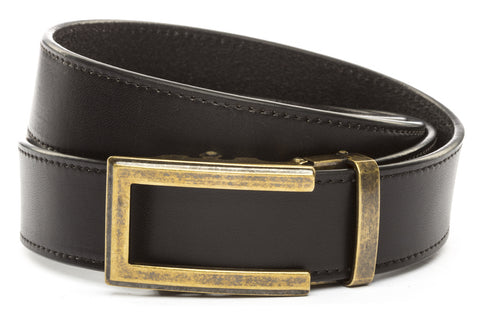 1-5-quot-traditional-buckle-in-antiqued-gold 1-5-quot-black-vegetable-tanned-leather-strap