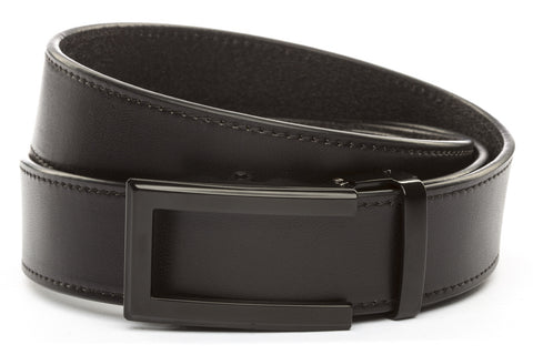 1-5-quot-traditional-buckle-in-black 1-5-quot-black-vegetable-tanned-leather-strap