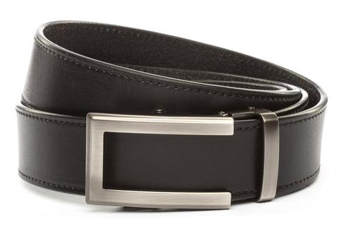 1-5-quot-traditional-buckle-in-gunmetal 1-5-quot-black-vegetable-tanned-leather-strap