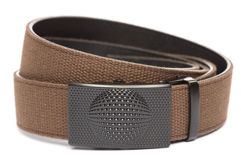 1-5-quot-anson-golf-buckle-in-black 1-5-quot-brown-canvas-strap
