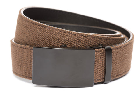 1-5-quot-classic-buckle-in-black 1-5-quot-brown-canvas-strap