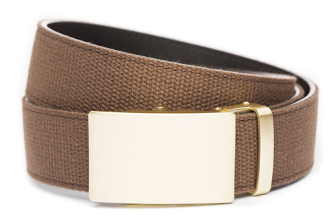 1-5-quot-classic-buckle-in-matte-gold 1-5-quot-brown-canvas-strap