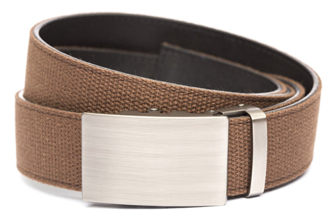 1-5-quot-classic-buckle-in-gunmetal 1-5-quot-brown-canvas-strap