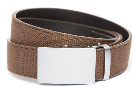 1-5-quot-classic-buckle-in-silver 1-5-quot-brown-canvas-strap