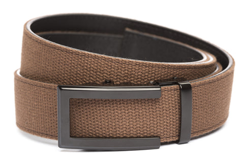 1-5-quot-traditional-buckle-in-black 1-5-quot-brown-canvas-strap