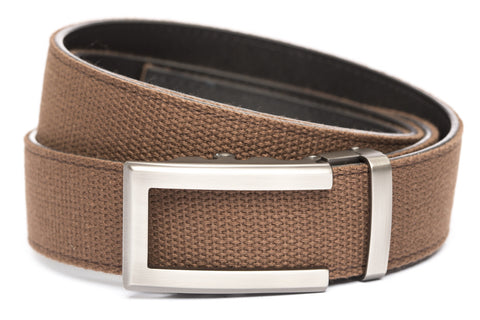 1-5-quot-traditional-buckle-in-gunmetal 1-5-quot-brown-canvas-strap