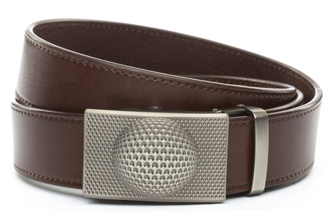 1-5-quot-anson-golf-buckle-in-gunmetal 1-5-quot-chocolate-vegetable-tanned-leather-strap