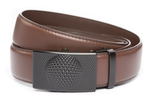 1-5-quot-anson-golf-buckle-in-black 1-5-quot-chocolate-leather-strap