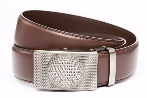1-5-quot-anson-golf-buckle-in-gunmetal 1-5-quot-chocolate-leather-strap