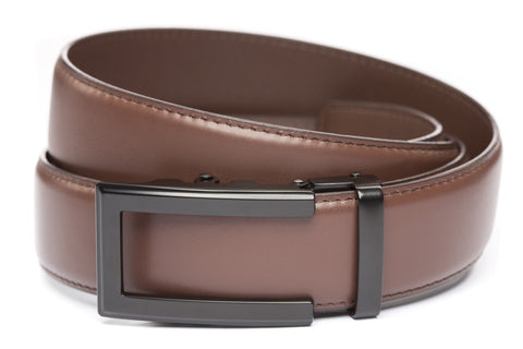 1-5-quot-traditional-buckle-in-black 1-5-quot-chocolate-leather-strap