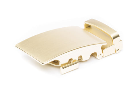 "**FACTORY SECOND** 1.5"" Classic Buckle in Matte Gold - Anson Belt & Buckle"