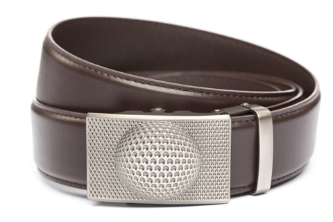 1-5-quot-anson-golf-buckle-in-gunmetal 1-5-quot-dark-brown-leather-strap