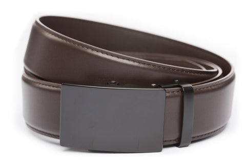 1-5-quot-classic-buckle-in-black 1-5-quot-dark-brown-leather-strap