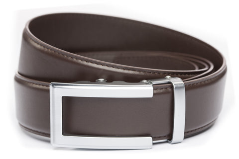 1-5-quot-traditional-buckle-in-silver 1-5-quot-dark-brown-leather-strap