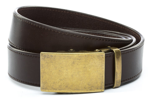 1-5-quot-classic-buckle-in-antiqued-gold 1-5-quot-espresso-vegetable-tanned-leather-strap