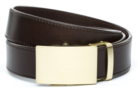 1-5-quot-classic-buckle-in-matte-gold 1-5-quot-espresso-vegetable-tanned-leather-strap