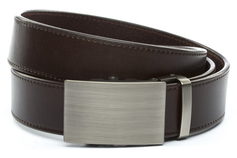 1-5-quot-classic-buckle-in-gunmetal 1-5-espresso-vegetable-tanned-leather