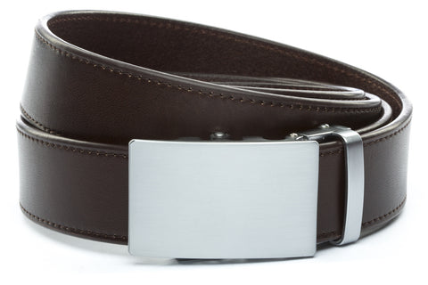 1-5-quot-classic-buckle-in-silver 1-5-espresso-vegetable-tanned-leather