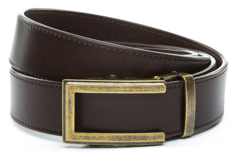 1-5-quot-traditional-buckle-in-antiqued-gold 1-5-quot-espresso-vegetable-tanned-leather-strap
