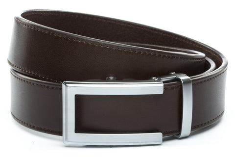 1-5-quot-traditional-buckle-in-silver 1-5-quot-espresso-vegetable-tanned-leather-strap