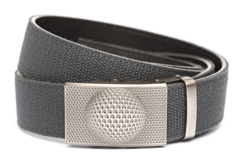 1-5-quot-anson-golf-buckle-in-gunmetal 1-5-quot-graphite-canvas-strap