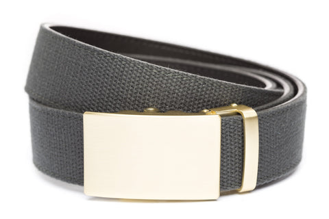 1-5-quot-classic-buckle-in-matte-gold 1-5-quot-graphite-canvas-strap