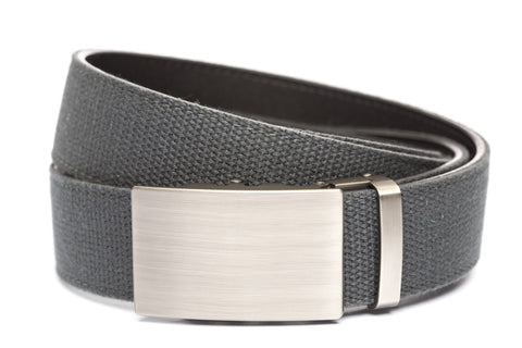 1-5-quot-classic-buckle-in-gunmetal 1-5-quot-graphite-canvas-strap