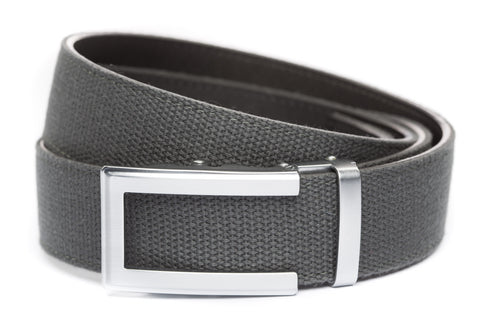 1-5-quot-traditional-buckle-in-silver 1-5-quot-graphite-canvas-strap