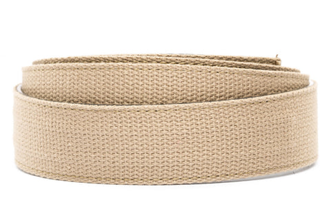 "1.5"" Khaki Canvas Strap - Anson Belt & Buckle"