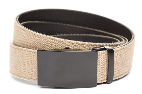 1-5-quot-classic-buckle-in-black 1-5-quot-khaki-canvas-strap